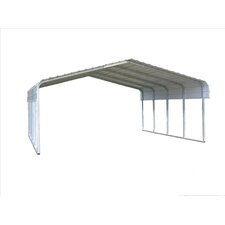 7' H x 18' W x 20' D Classic Car Port