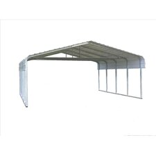 Classic Car Port with Truss Bracing
