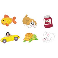 <strong>Little Folks Visuals</strong> Abc Phonics Set Flannelboard Set