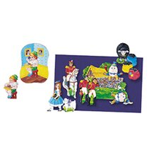 <strong>Little Folks Visuals</strong> Flannelboards Set 4 Nursery Rhymes