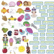 <strong>Little Folks Visuals</strong> Abc Train Flannelboard Set