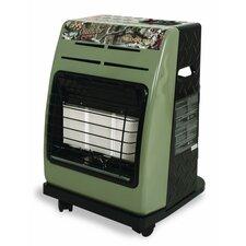 18,000 BTU Portable Propane Cabinet Utility Heater