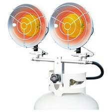 <strong>Mi-T-M</strong> 30,000 BTU Radiant Tank Top Propane Portable Space Heater