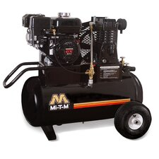 <strong>Mi-T-M</strong> 20 Gallon Single Stage Wheelbarrow Air Compressor