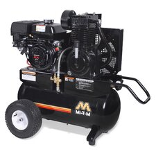 <strong>Mi-T-M</strong> 20 Gallon 2 Stage Wheelbarrow Air Compressor