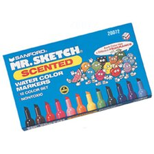 <strong>Newell Corporation</strong> Marker Set Scented 12 Color