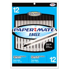 Papermate Eagle Ball Point Pen 12pk