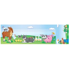 Seat And Cubby Signs Farm Animals