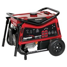 6500 Watt Portable Gas Generator with Recoil/Electric Start