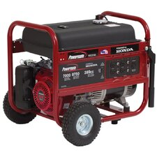 7000 Watt Portable Gas Generator with Honda GX390 Recoil Start
