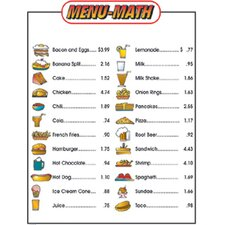 Menu Math For Beginners Extra