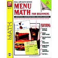Menu Math For Beginners