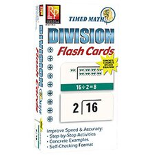 Timed Math Division Flash Cards