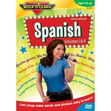 Rock N Learn Spanish Dvd Volume I &