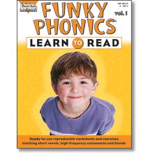Funky Phonics Learn To Read Vol 1