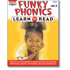 Funky Phonics Learn To Read Vol 3