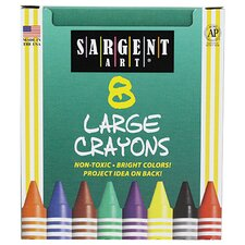 Sargent Art Crayons Jumbo (8 pack)