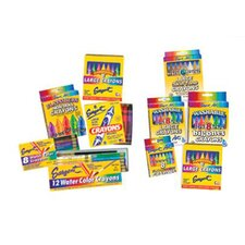 <strong>Sargent Art Inc</strong> Sargent Art Watercolor Crayons 8cnt