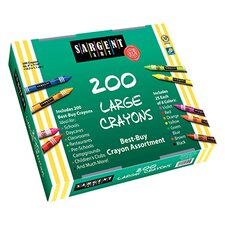 <strong>Sargent Art Inc</strong> Sargent Art Large Crayons 200 Large