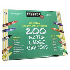 <strong>Sargent Art Inc</strong> Sargent Art Best Buy Crayon