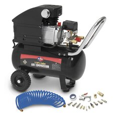3.5 Peak HP 6 Gallon Air Compressor with Accessories