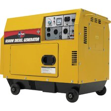 <strong>All Power America</strong> 6,500 Watt 10 HP Silent Diesel Generator