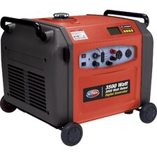 3500 Watt Digital Gas Inverter Generator with Electric Push Start Parallel Feature