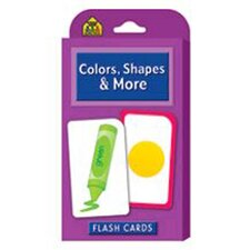 <strong>School Zone Publishing</strong> Colors Shapes & More Flash Cards