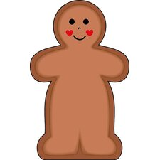 Notepad Large Gingerbread Man