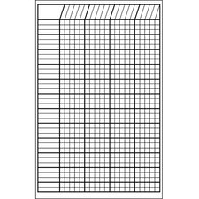 Incentive Chart Small White 14 X 22
