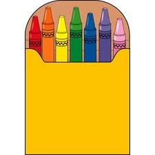 Notepad Large Crayon Box