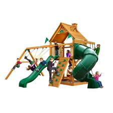 Mountaineer with Amber Posts Cedar Swing Set