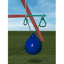 <strong>Gorilla Playsets</strong> Buoy Ball withTrapeze Bar Accessory