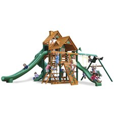 Great Skye II Swing Set with Wood Roof Canopy