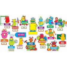 Monsters At Work Bb Set Gr Pk-5
