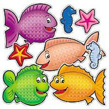Accent Punch-outs Fishy Fun 72 Pcs