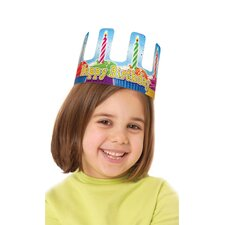 Birthday Cupcake Crowns 36/pk