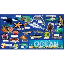 Ocean Plants & Animals Mini Bb Set