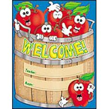 Chart Welcome Basket 17x22 Plastic
