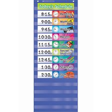 Daily Schedule Pocket Chart Gr K-5