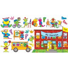 Monsters Back To School Bb Set