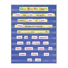 Standard Pocket Chart Gr K-5