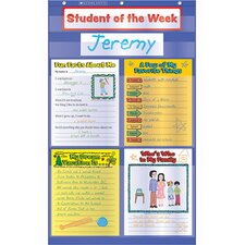 <strong>Teachers Friend</strong> Student Of The Week Pocket Chart