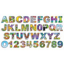 Illustrated Alphabet & Numbers Bb