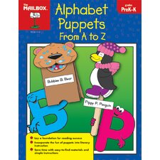 Alphabet Puppets From A To Z Prek-k