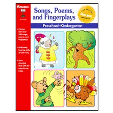 Songs Poems & Fingerplays Gr Pk-k