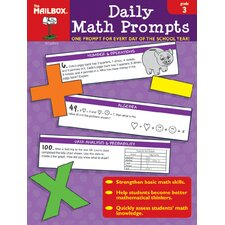 Daily Math Prompts Gr 3