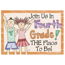 Join Us In 4th Gr Postcards