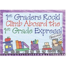 First Graders Rock Postcards