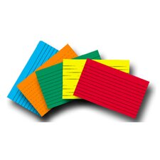 Index Cards 3x5 Lined 75 Ct Brite